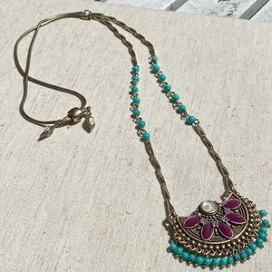💙NWT C+I Jaipur Convertible Pendant Necklace